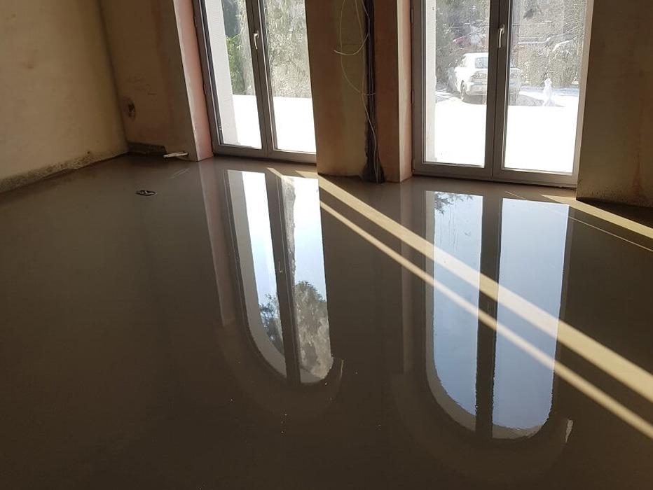 Mineralboden im Haus